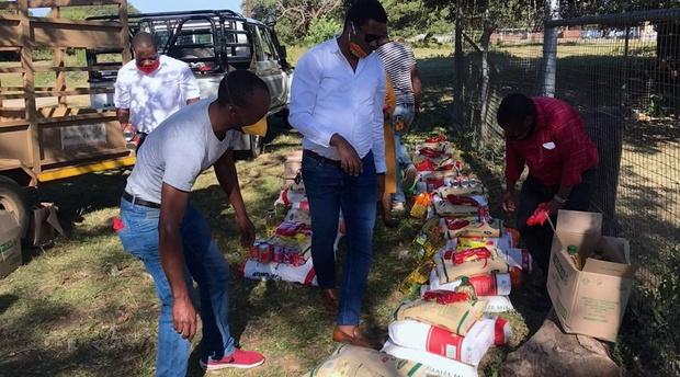 African Safari Foundation food parcels